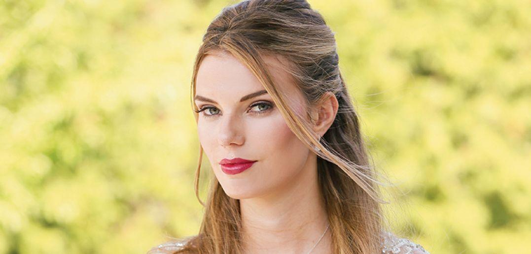 Eilie of Next Models, Makeup by Bri-Lyn, Hair by Noemi Smith
