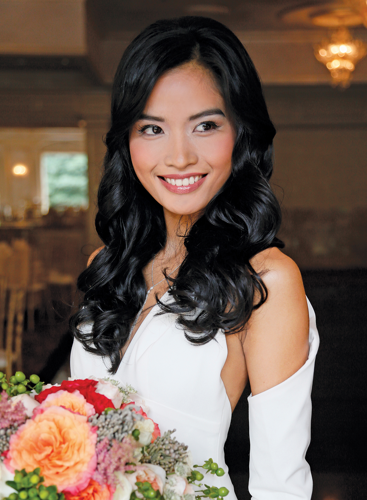 Outdoor Wedding Bridal Looks By Ashimoto Essential Beauty