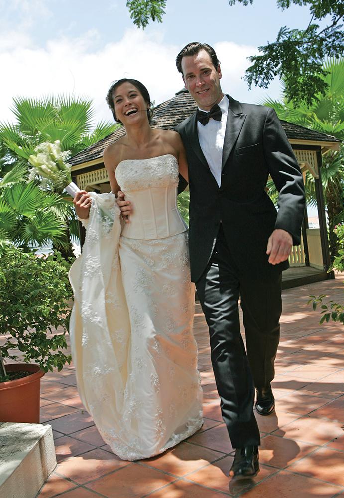 Oleg Cassini Tuxedo, in Antigua