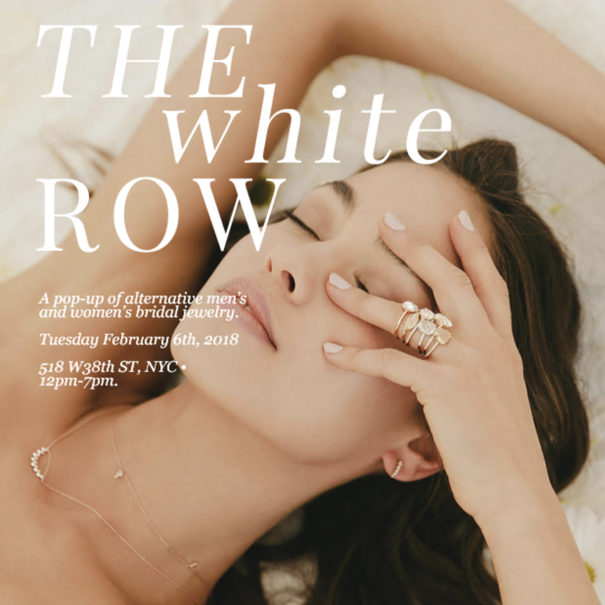 White Row Bridal Jewelry Event 2/6/18