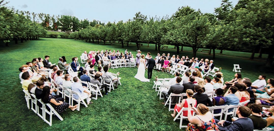 Brooklyn Botanic Garden, Circle Ceremony (Photo: From Parris with Love)
