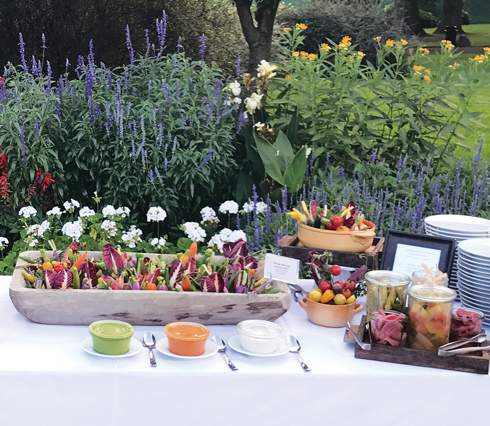 Brooklyn Botanic Garden, The Edible Garden Display (Photo: Patina Events)