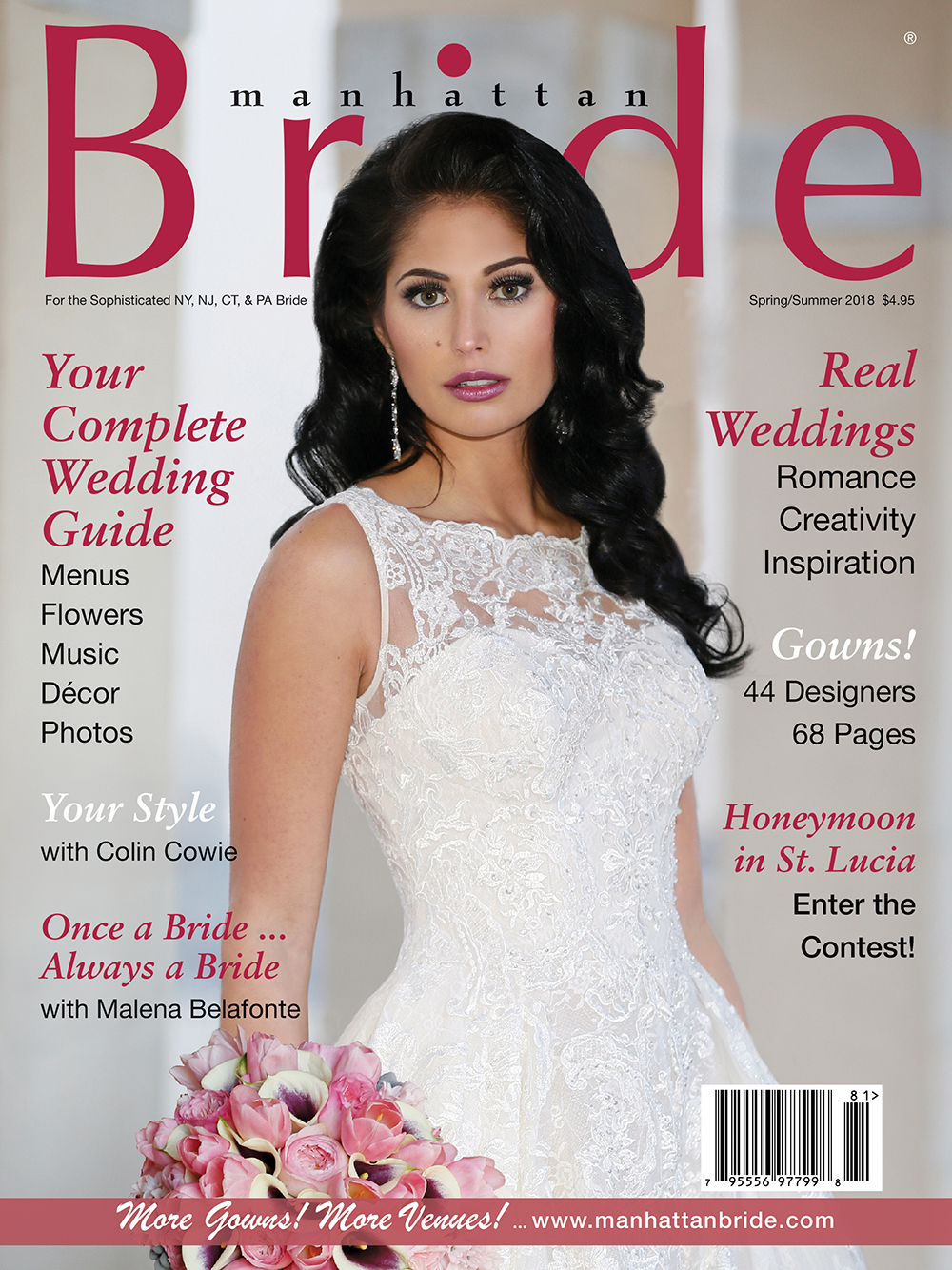 Manhattan Bride Cover Spring/Summer 2018