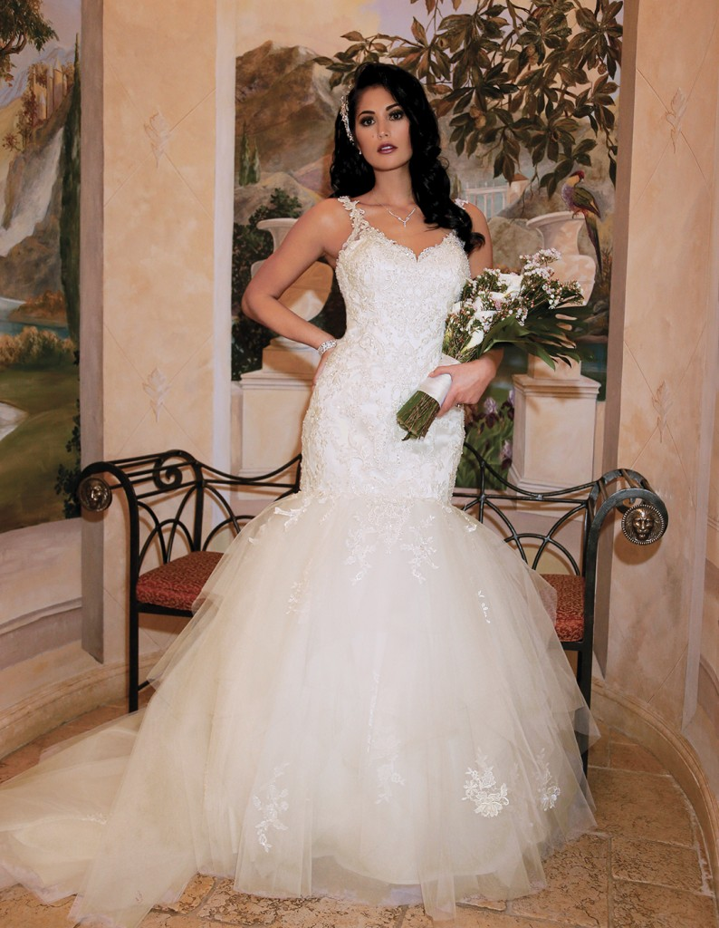 Gown: Bossina Signature (BB102, $1,600), Torcianna Events & Florals