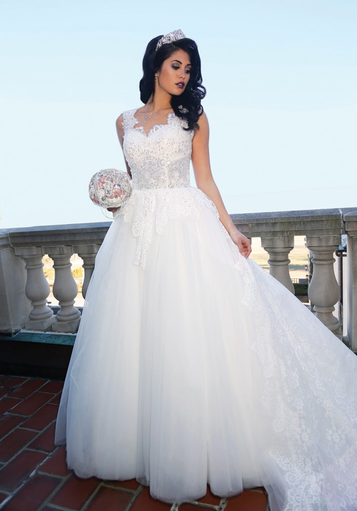 Gown: Bossina Signature (BB125, $1,650), Torcianna Events & Florals