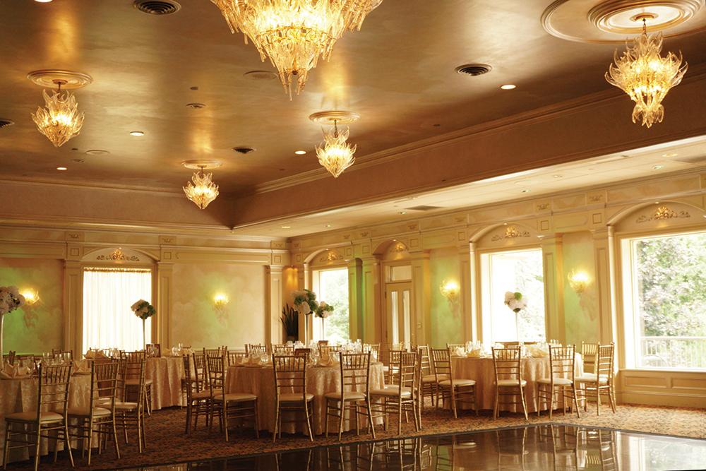 The Domenican Grand Ballroom of il Tulipano Grand Ballroom, wedding-ready
