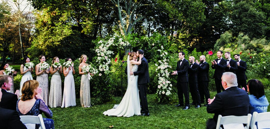 Ashley & Joe's Wedding at Brooklyn Botanic Garden (Danila Mednikov Photography)