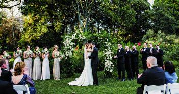Ashley & Joe's Wedding at Brooklyn Botanic Garden (Danila Mednikov Photography)
