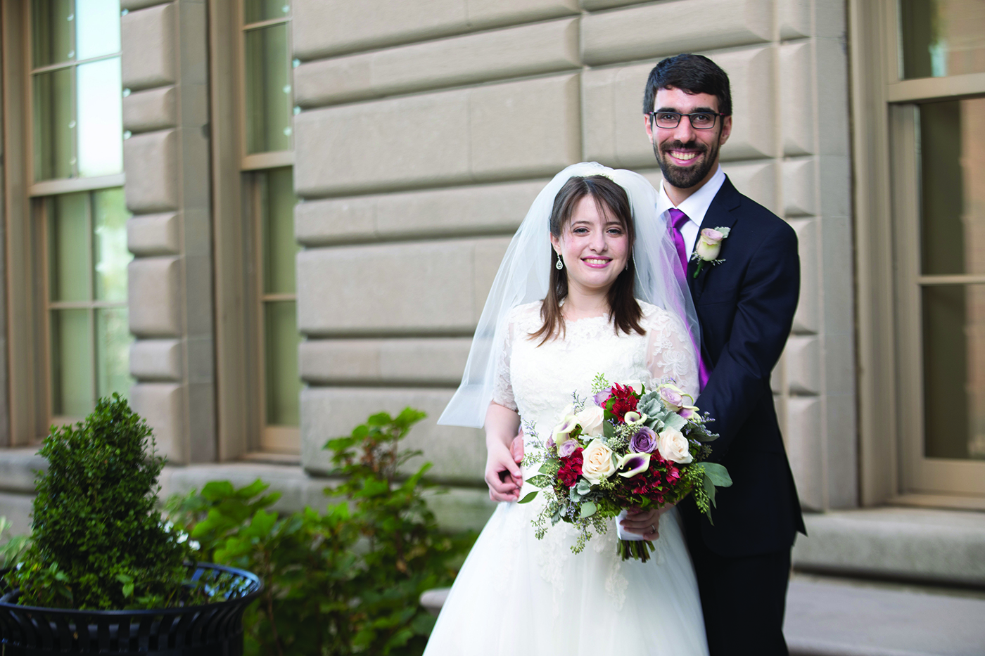 Yael & Adam's Wedding at Faculty House at Columbia U. (Laibel Schwartz Photography)