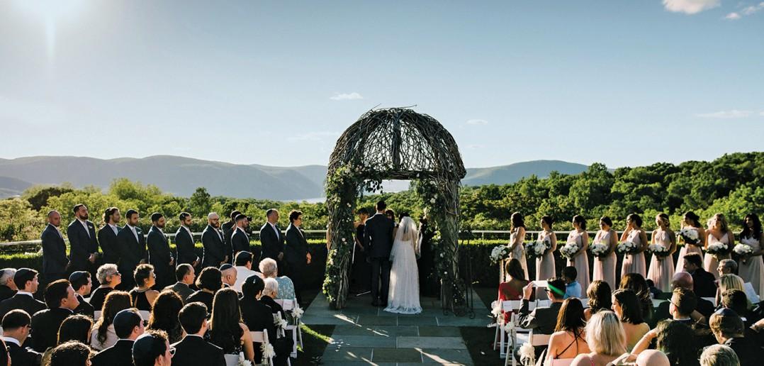 Annie & Geoffrey's Wedding at The Garrison (Hudson River Photographer)