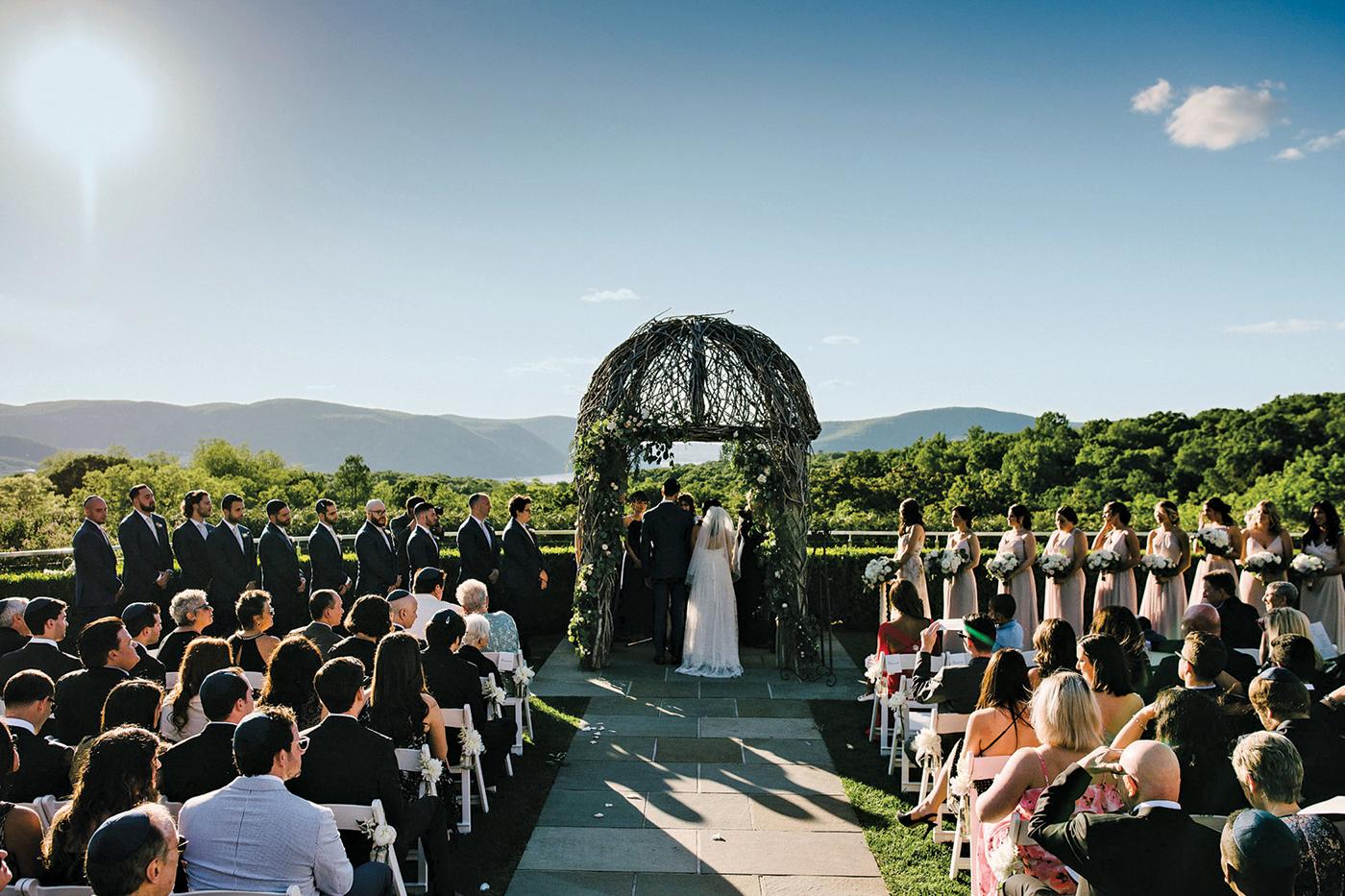 Annie Geoffrey S Wedding At The Garrison Hudson River Photographer