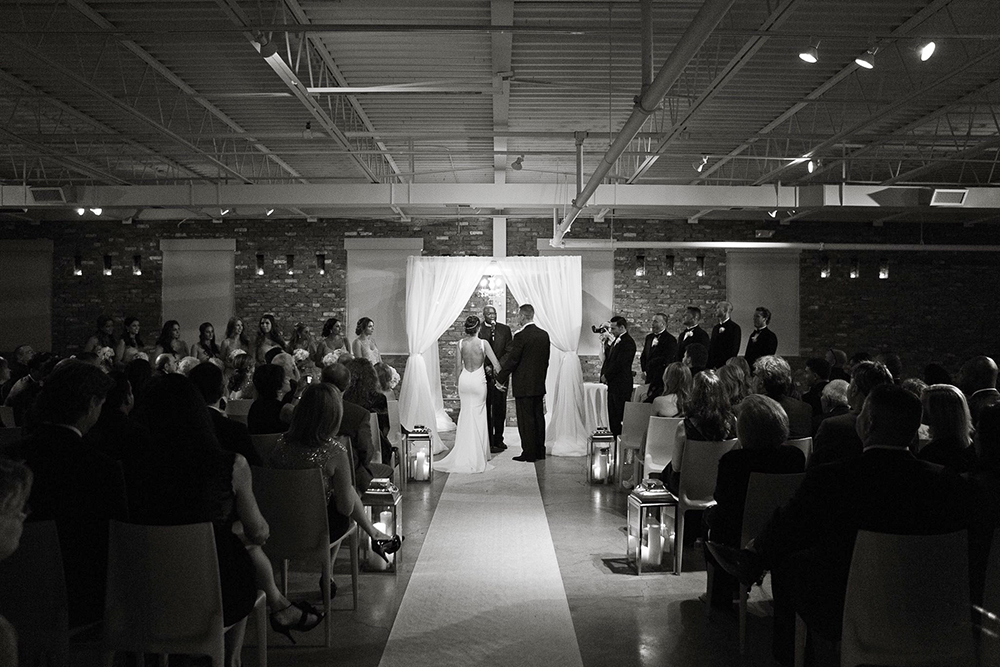 Loading Dock, Wedding Ceremony