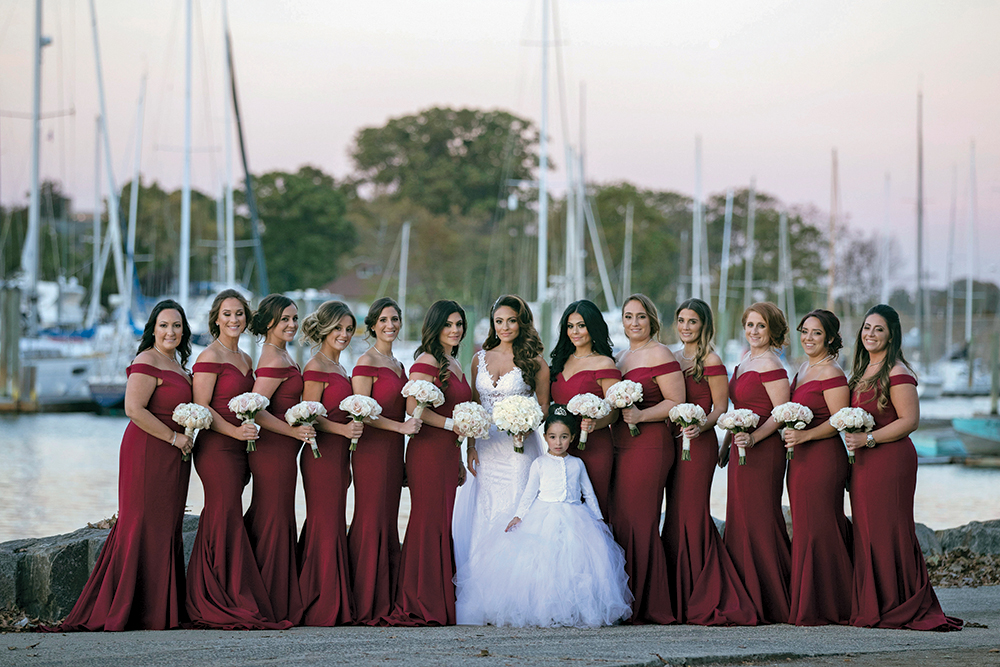 Brianna & Antonio's Wedding at Surf Club on the Sound (Photography by Alfonso)