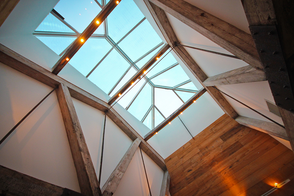 The Roundhouse, skylight