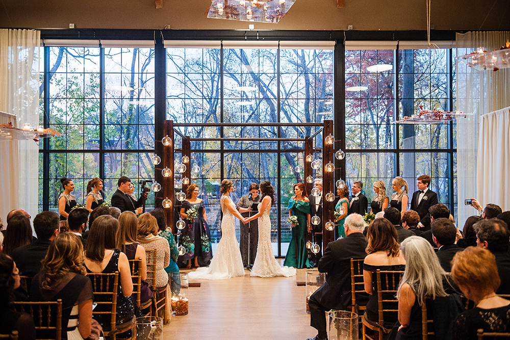 The Roundhouse, indoor ceremony