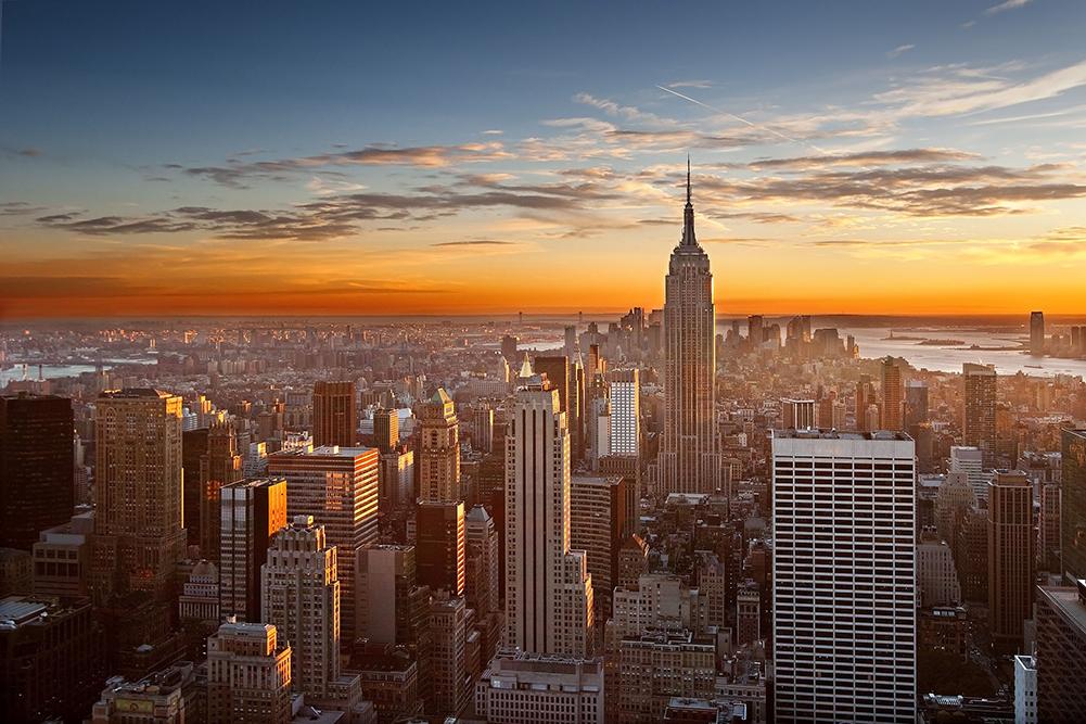 Manhattan Club Timeshare, Skyline at Sunset