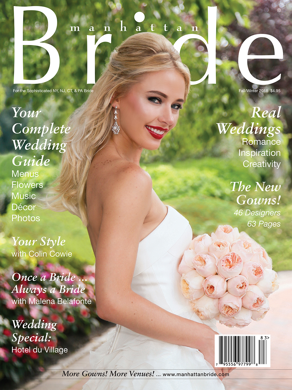 Manhattan Bride Cover Fall/Winter 2018