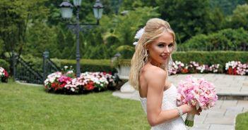 Gown-Oleg Cassini at David's Bridal, Ariston Flowers, Hair Jewelry-Sterling Hairpins, Earrings & Bracelet-David's Bridal