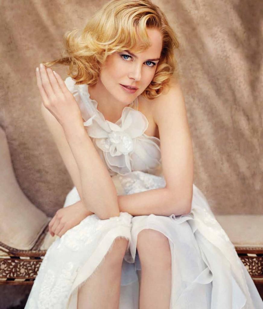 Oleg Cassini, The Wedding Dress; Nicole Kidman (OPhoto: Patrick Demarchelier)