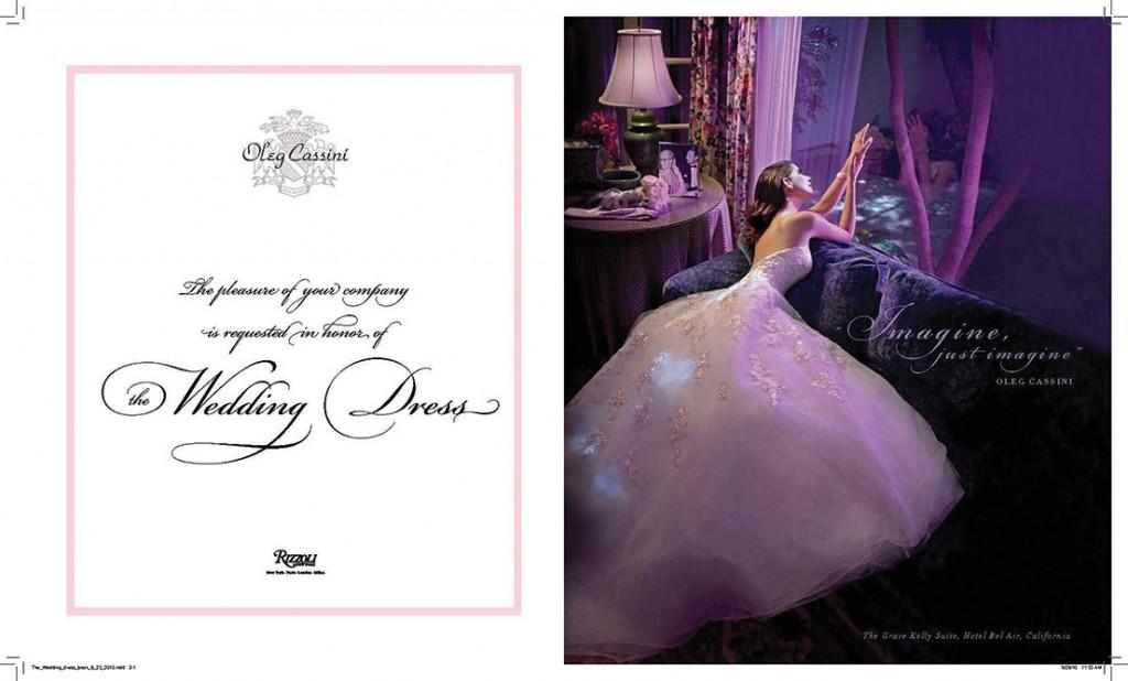 Oleg Cassini, The Wedding Dress