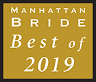 Manhattan Bride Best of 2019 Award