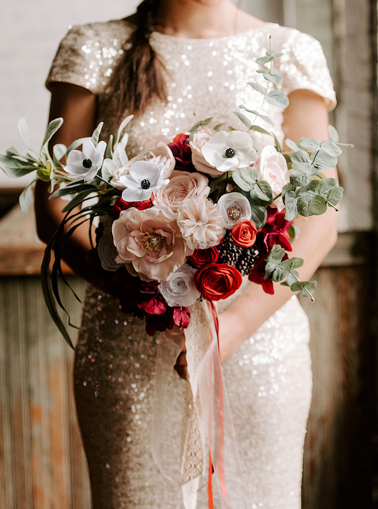 Forever Brooch Bouquets (Wicked Petunia Photography)