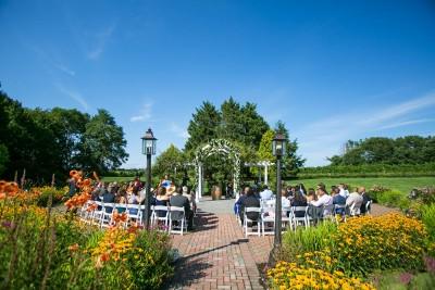 Vineyards At Aquebogue Ny Garden Wedding Site
