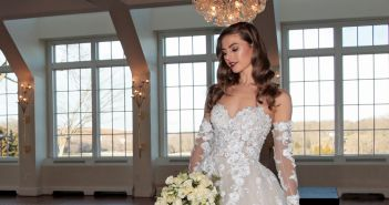Gown: Eve of Milady (357). Ariston Flowers