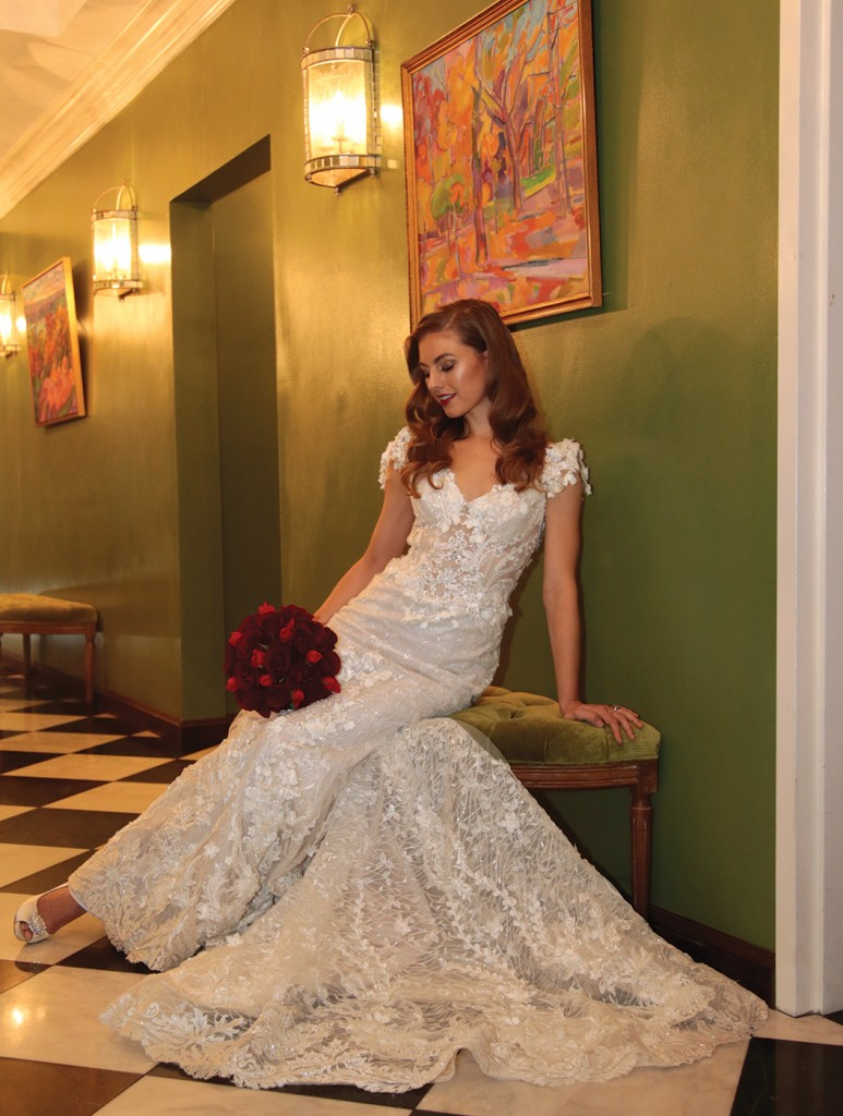 Gown: Eve of Milady (4373), Ariston Flowers
