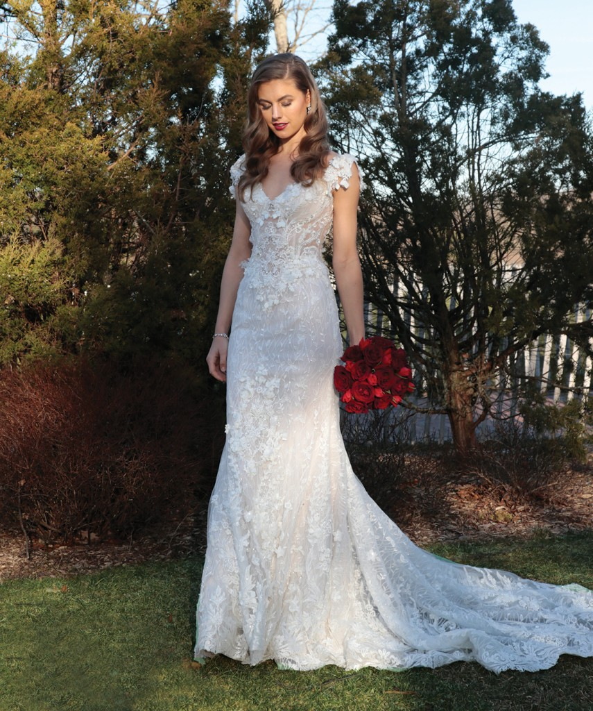 Gown: Eve of Milady (4373). Ariston Flowers