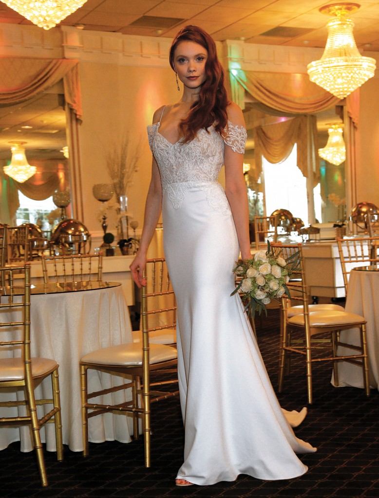 Gown: Jude Jowilson (Isabel). Henry's Florist