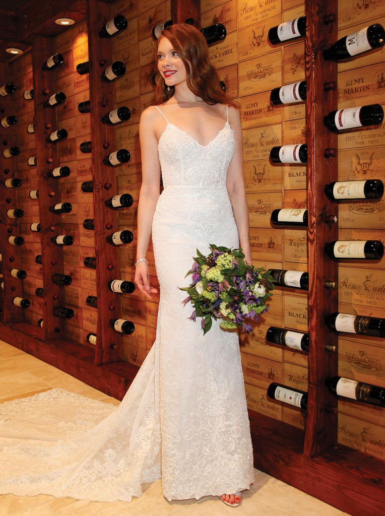 Gown: Jude Jowilson (Madge). Bouquet: Mitch Kolby Events