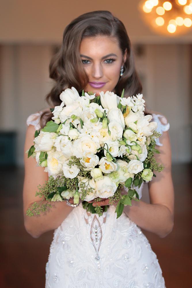Wedding Bouquet by Ariston Flowers