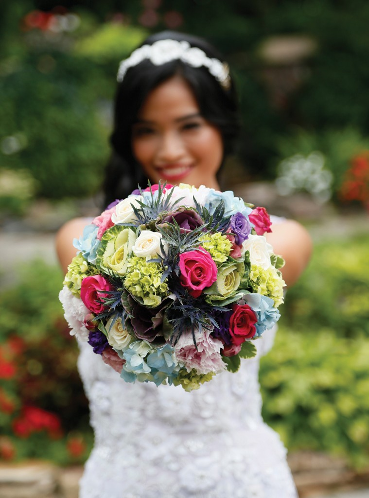 Wedding Bouquet by Henry's Florist