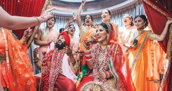 A Joyful Ceremony. (Christopher Brock Photography)