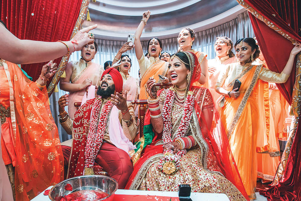 American Wedding Traditions.Indian Wedding Traditions