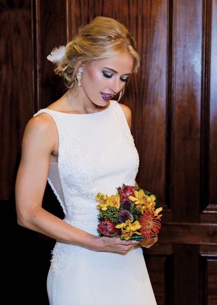 Wedding Bouquet by Sandra's & Donath's Florist