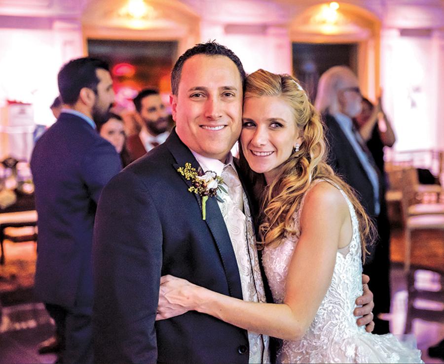 At Their Wedding, Pamela & David (Photo: Alexander Rivero)