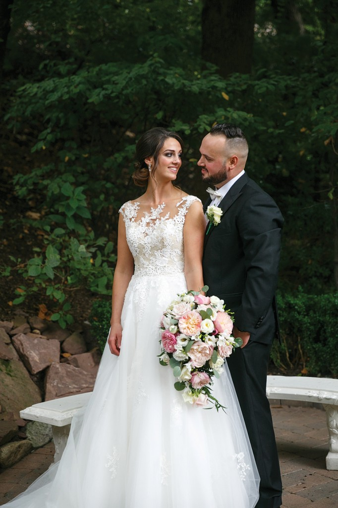 Katelyn & Emilio's Garden Wedding at Nanina's in the Park