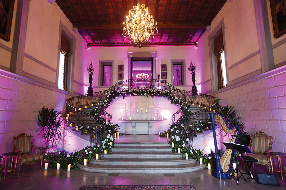 Valerie and Bousset's Wedding at OHEKA CASTLE