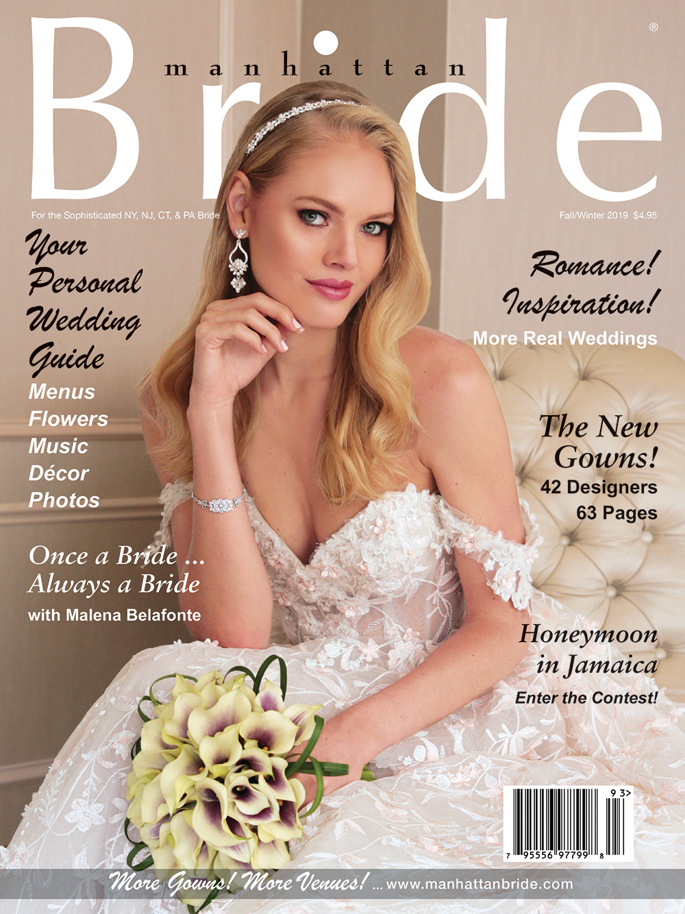 Manhattan Bride Cover Fall/Winter 2019