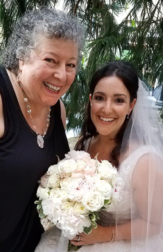 Loving Hearts, Rev Beb with Bride