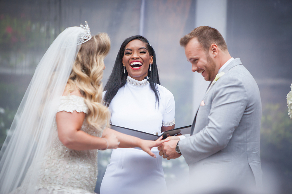 Married by Rev Roxy (Photo: Brian Jarreau)