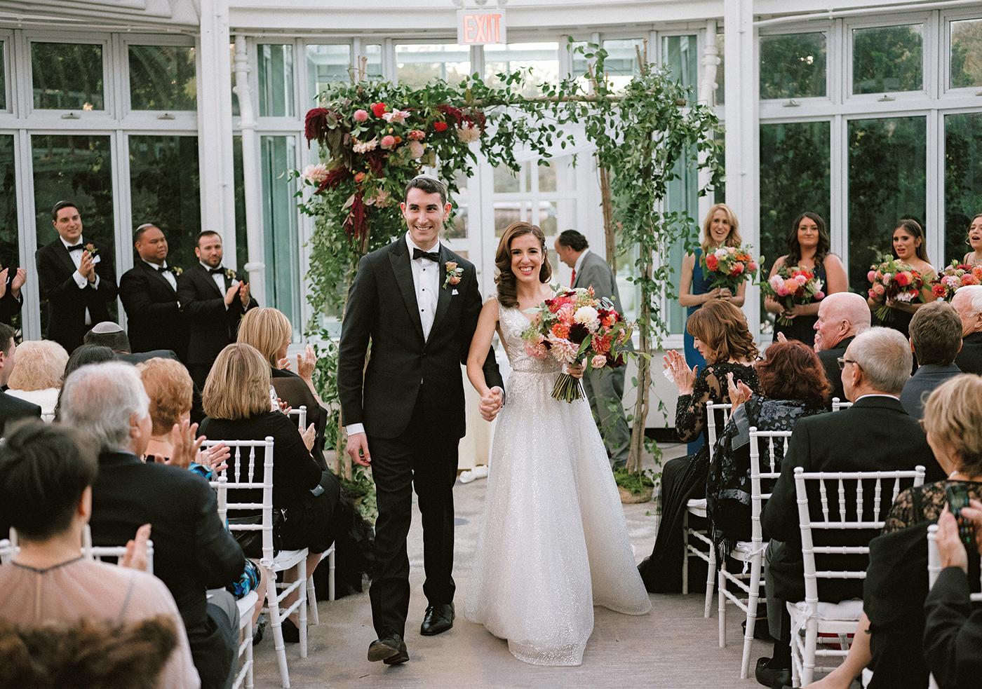 Nicole & Scott's Wedding at the Brooklyn Botanic Garden NY