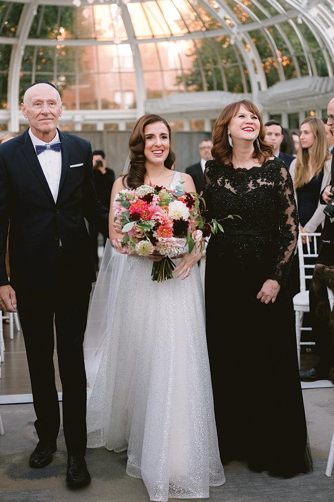 Nicole & Scott's Wedding at Brooklyn Botanic Garden NYC