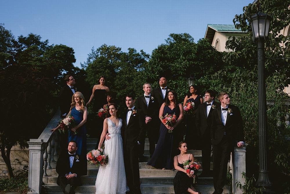 Nicole & Scott's Wedding at Brooklyn Botanic Garden NY