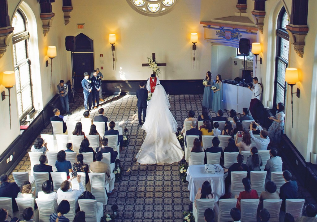 Evangeline & Yifan's Wedding at The Castle Hotel & Spa NY
