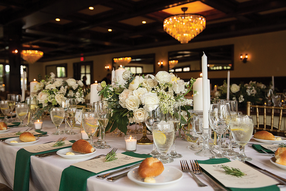 Elizabeth and Michael's Wedding at Hotel du Village PA