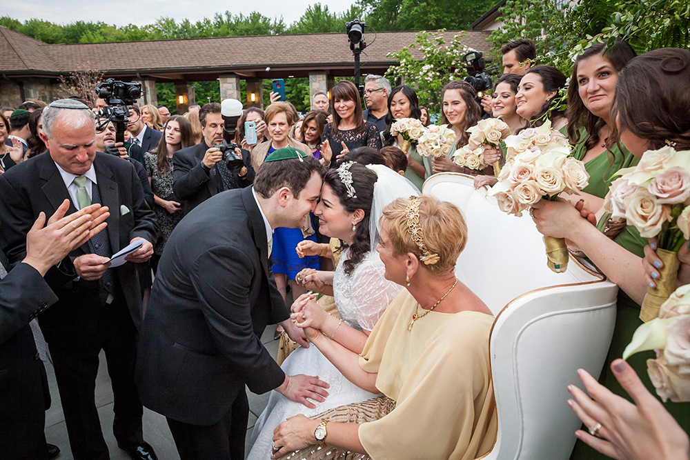 The wedding of Susie Fishbein's daughter, at Northern Valley Affairs (JoVon Photography)