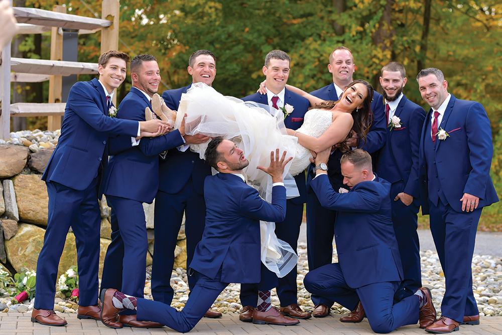 Raige & Rick's Wedding at Rock Island Lake Club NJ